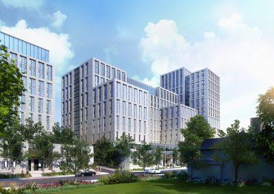 McMaster Undergraduate Residence rendering